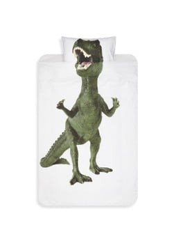 Snurk Snurk Dinosaurus Rex katoenen dekbedovertrekset 160TC - inclusief kussenslopen