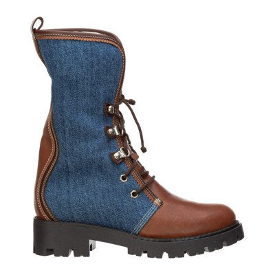 Dsquared2 girls schoenen child boots leather