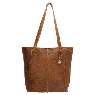 SoDutch SoDutch Bags Shopper Tulp #01 Cognac