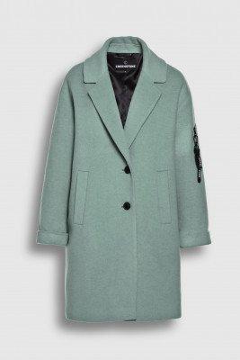 Creenstone Creenstone Wool cashmere blazer coat - Celadon