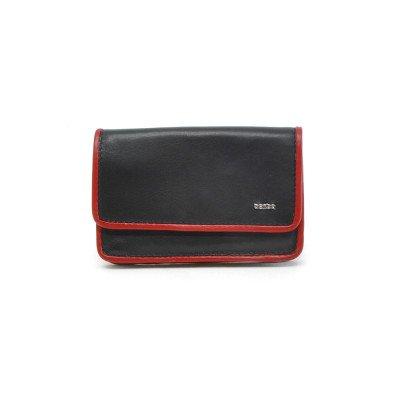 Berba Berba Dames Portemonnee Soft 001-196 Black Red