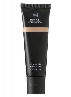 HEMA Matt Skin Foundation Rose 02 (bruin)