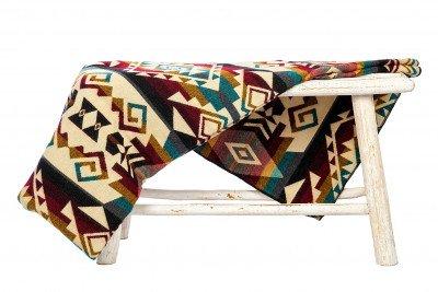 EcuaFina Alpaca deken native Chimborazo - Kleurmix - 195 cm x 235 cm Mix