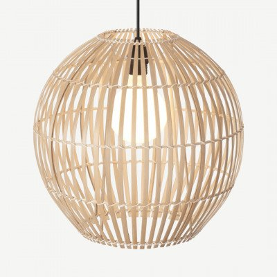 MADE.COM Hector hoge lampenkap, bamboe
