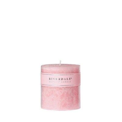 Riverdale NL Geurkaars Pillar L.pink 10x10cm