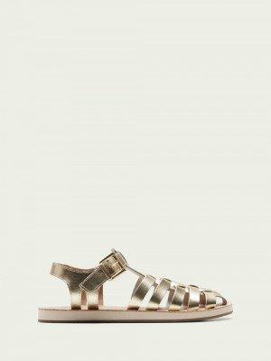 Scotch en Soda Scotch & Soda Frances goudkleurige sandalen