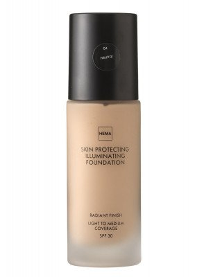 HEMA Skin Protecting Illuminating Foundation Neutral 04 (bruin)