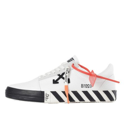 Off-White Off-White Vulc Low Top Sneakers White (Updated Stripes) (2018)