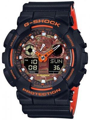 G-SHOCK G-SHOCK GA-100BR-1AER zwart