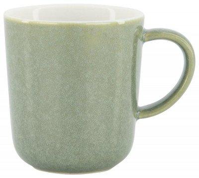 HEMA Koffiemok Chicago 130 Ml - Reactief Glazuur - Groen (Green)