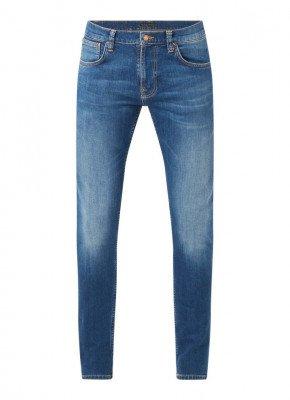 Nudie Jeans Nudie Jeans Tight Terry skinny fit jeans met medium wassing en stretch