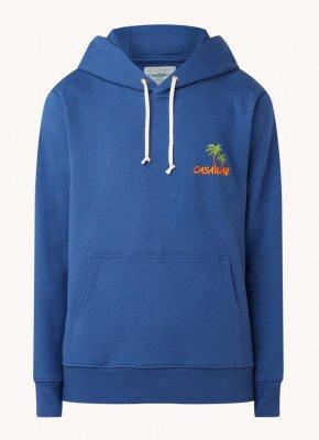 Casablanca Casablanca Casa Way hoodie van biologisch katoen met logoborduring