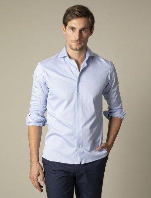 Cavallaro Napoli Cavallaro Napoli Heren Overhemd - Prime Overhemd - Blauw