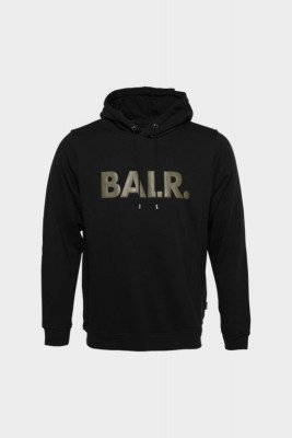 BALR. Straight Hoodie Men /Green