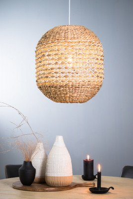 Light en Living Light & Living Hanglamp 'Tripoli' 60cm, kleur Naturel