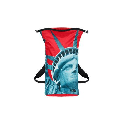 Supreme Supreme x The North Face Statue of Liberty Waterproof TNF Backpack Red (FW19)