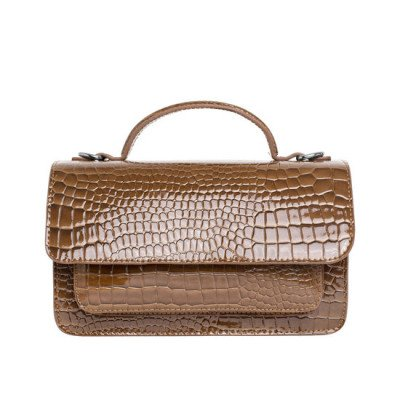 Veganbags Hvisk Tate Croco Brownish