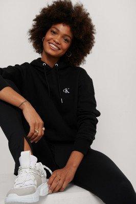 Calvin Klein Calvin Klein Hoodie Met Borduurwerk - Black