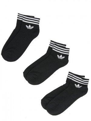 adidas Originals adidas Originals Trefoil Ankle Socks zwart