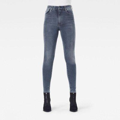 G-Star RAW Kafey Ultra High Skinny Jeans - Donkerblauw - Dames