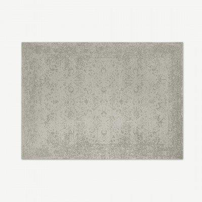 MADE.COM Yolanda Persisch jacquardvloerkleed, 200 x 300 cm, roomwit