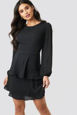 Trendyol Trendyol Milla Binding Detailed Dress - Black