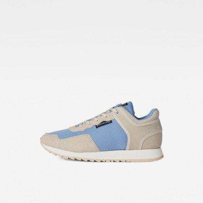G-Star RAW Calow Basic Q2 Sneakers - Midden blauw - Dames
