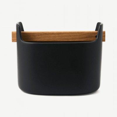 MADE.COM Eva Solo container, 15 cm, zwart