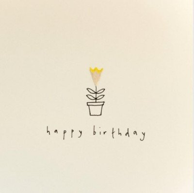 Growing Concepts Wenskaart - Happy Birthday