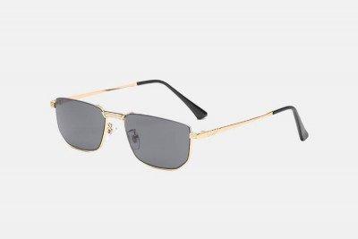 Blank-Sunglasses NL CABRIO. - Gold with black
