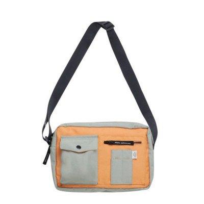 Mads Norgaard Mads Norgaard Bel Collage Cappa Mili Bag Light Army/Orange