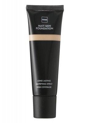 HEMA Matt Skin Foundation Neutral 01 (bruin)