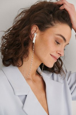 NA-KD Accessories NA-KD Accessories Parel Gedetailleerde Airpod-Ketting - Gold