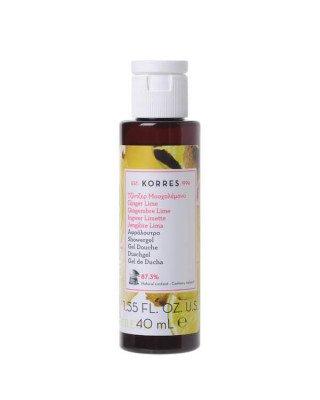Korres Korres - Ginger Lime Showergel - 40 ml