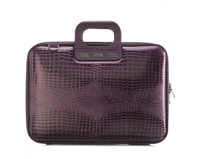 Bombata Bombata Shiny Cocco 15,6 inch Laptoptas Violet