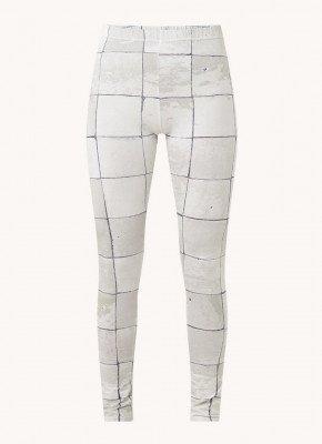 Snurk Snurk Tiles pyjamabroek met print