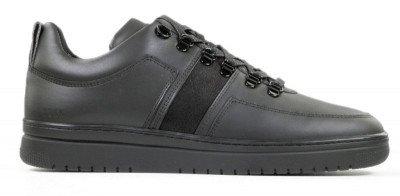 Nubikk Yeye Maze Raven Zwart Herensneakers