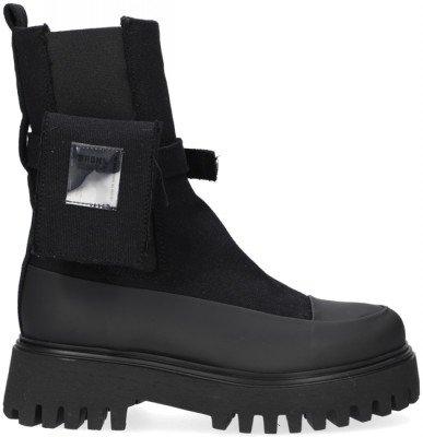 Bronx Zwarte Bronx Chelsea Boots Groov-y 47348