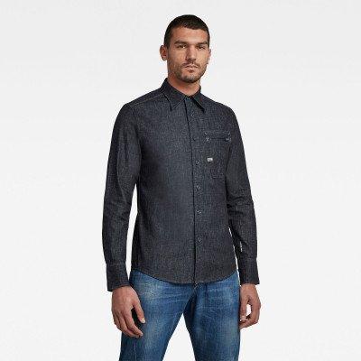 G-Star RAW Zip Pocket Slim Shirt - Donkerblauw - Heren