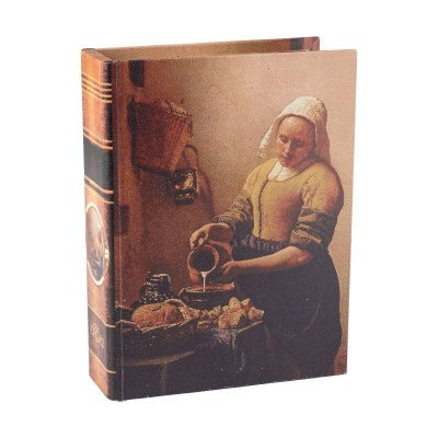 Xenos Opbergboek Melkmeisje - 18x6x24 cm