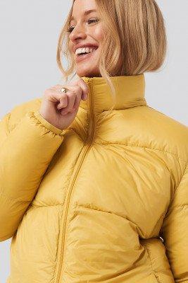 Sparkz Sparkz Pretty Puff Jacket - Yellow