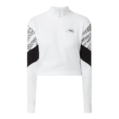 Puma Relaxed fit sweatjack in comfortmodel