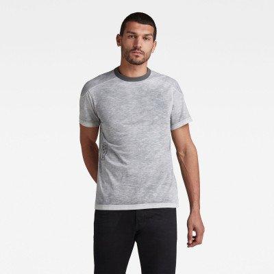 G-Star RAW Rugby Spray Loose T-Shirt - Zwart - Heren