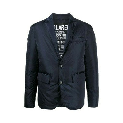 Dsquared2 Notched collar padded jacket
