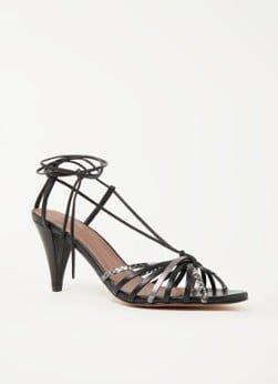 BAenSH ba&sh Chiara sandalette van geitenleer