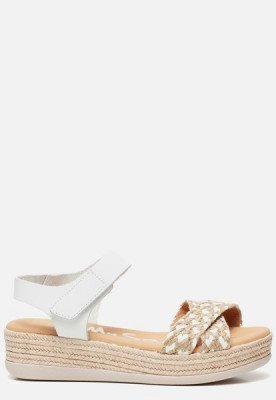 OH MY SANDALS OH MY SANDALS Sandalen wit