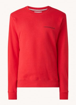 Calvin Klein Calvin Klein Monogram sweater met backprint