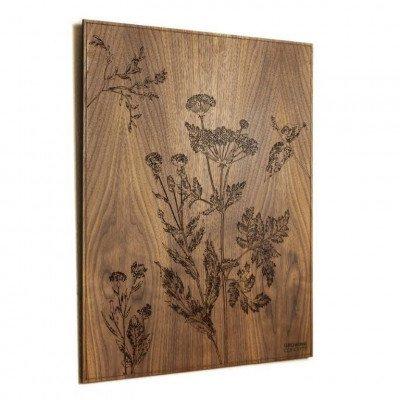 Growing Concepts Vesta Schilderij - Amerikaans noten/ 57cm x 45cm Donker eiken / 57cm x 45cm