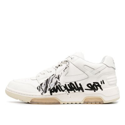 Off-White Off-White Out Of Office OOO Low Top Sneaker 'For Walking' White (2020)