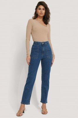 NA-KD NA-KD Jeans - Blue